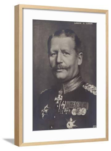 General Von Einem--Framed Art Print