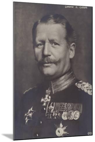 General Von Einem--Mounted Photographic Print