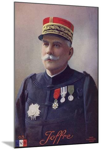 General Joffre--Mounted Photographic Print