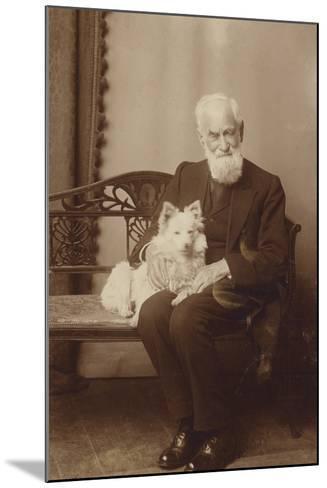 George Bernard Shaw--Mounted Photographic Print