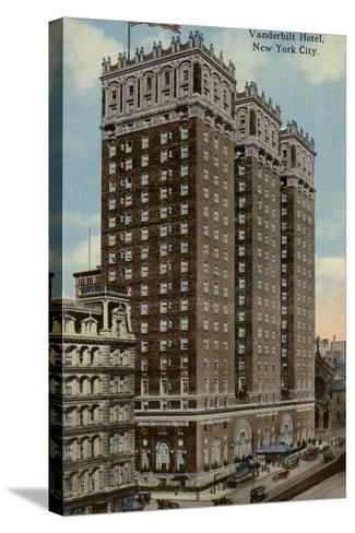 Vanderbilt Hotel, New York City, Usa--Stretched Canvas Print