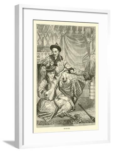 Buriats--Framed Art Print