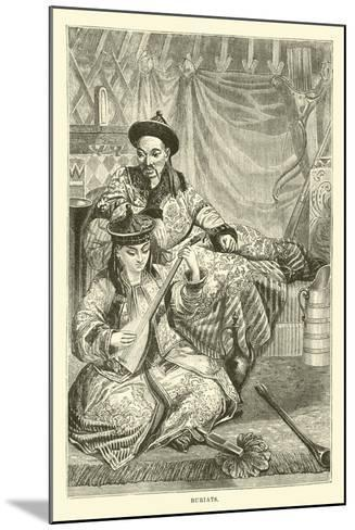 Buriats--Mounted Giclee Print