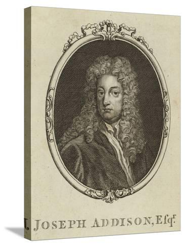 Joseph Addison, Esquire--Stretched Canvas Print