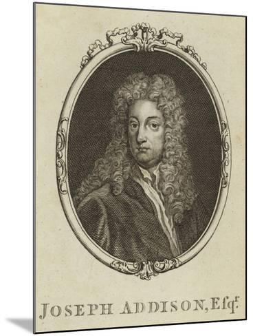 Joseph Addison, Esquire--Mounted Giclee Print