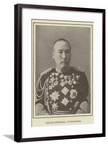 Major-General Fukushima--Framed Art Print