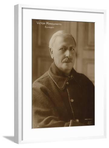 Victor Margueritte--Framed Art Print
