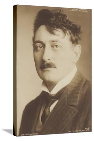 Jean Gilbert, German Operetta Composer--Stretched Canvas Print