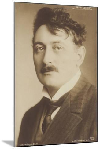 Jean Gilbert, German Operetta Composer--Mounted Photographic Print
