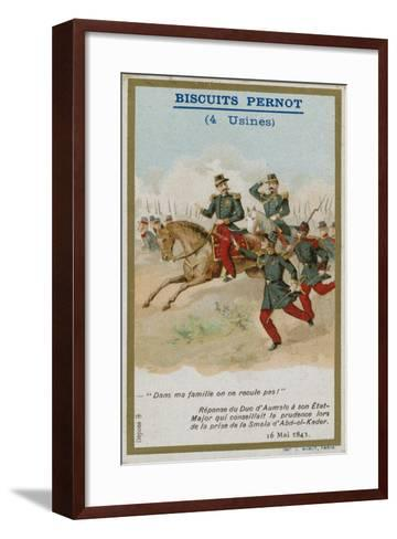 Trade Card Issued with Biscuits Pernot--Framed Art Print