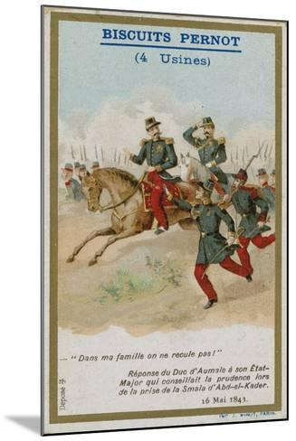 Trade Card Issued with Biscuits Pernot--Mounted Giclee Print