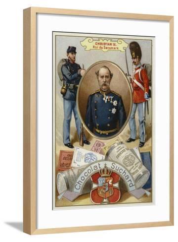 Christian Ix, King of Denmark--Framed Art Print