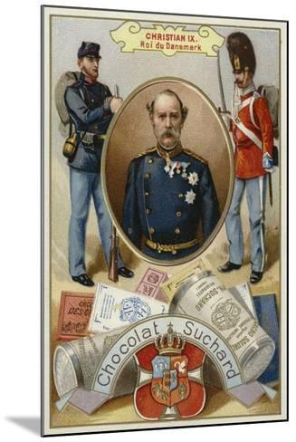 Christian Ix, King of Denmark--Mounted Giclee Print