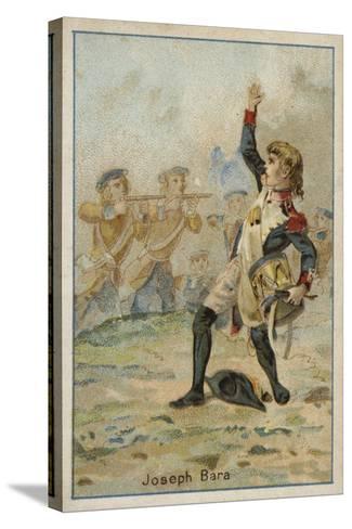 Joseph Bara, French Revolutionary Boy Soldier--Stretched Canvas Print