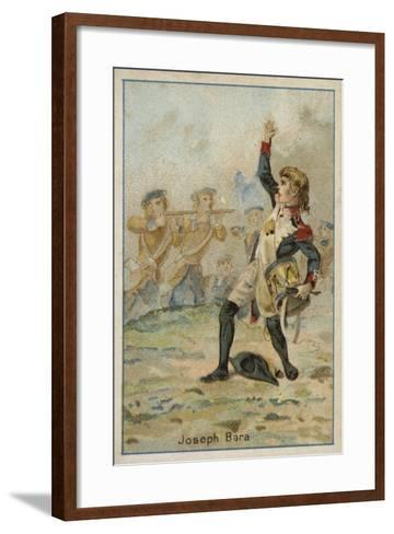 Joseph Bara, French Revolutionary Boy Soldier--Framed Art Print