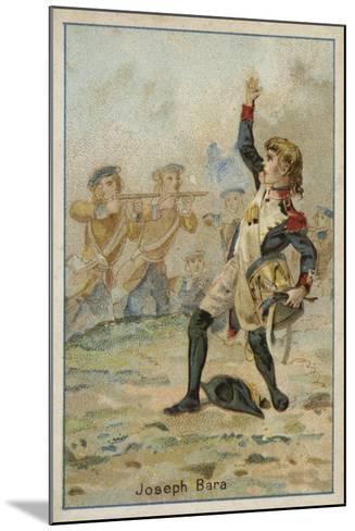 Joseph Bara, French Revolutionary Boy Soldier--Mounted Giclee Print