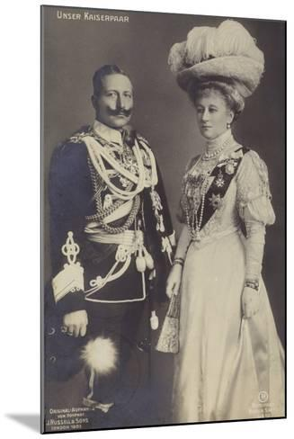 Kaiser Wilhelm II--Mounted Photographic Print