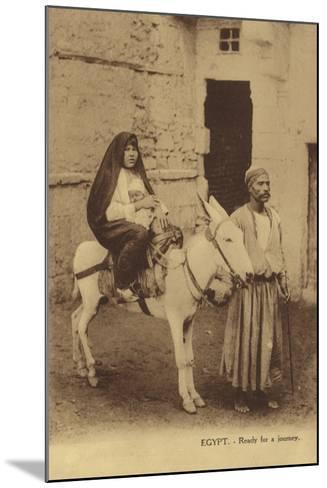 Egypt - Ready for a Journey--Mounted Photographic Print