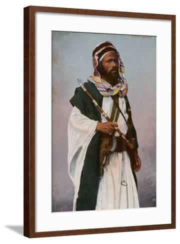 Camel Driver--Framed Art Print