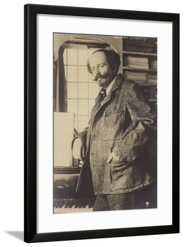 Portrait of Bertram Shapleigh--Framed Art Print