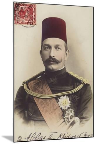 Abbas II--Mounted Photographic Print