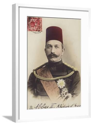 Abbas II--Framed Art Print