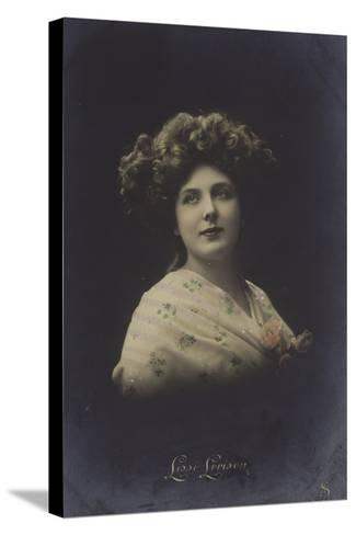 Lissi Lorison, Actress--Stretched Canvas Print