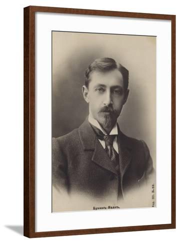 Ivan Bunin, Russian Writer--Framed Art Print