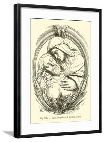 Pieta--Framed Art Print