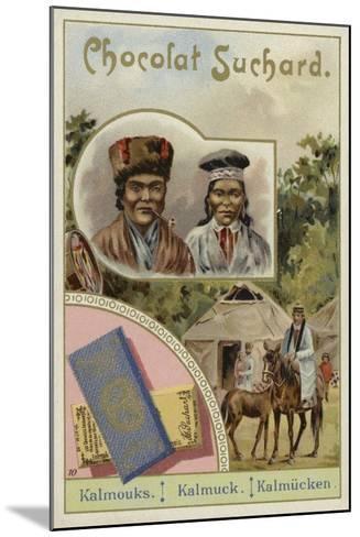 Kalmyks--Mounted Giclee Print