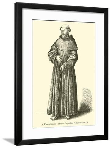 A Franciscan--Framed Art Print