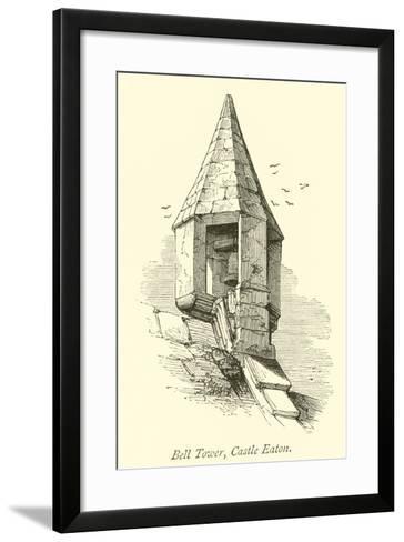 Bell Tower, Castle Eaton--Framed Art Print
