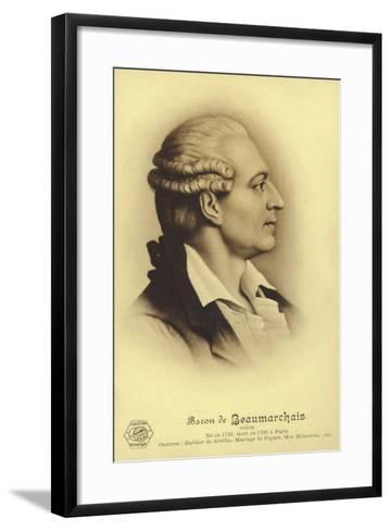 Pierre Beaumarchais--Framed Art Print