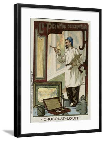 The Painter and Decorator--Framed Art Print