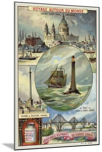 Sights of Great Britain--Mounted Giclee Print