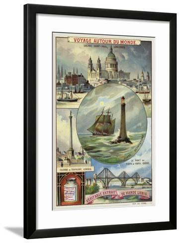 Sights of Great Britain--Framed Art Print