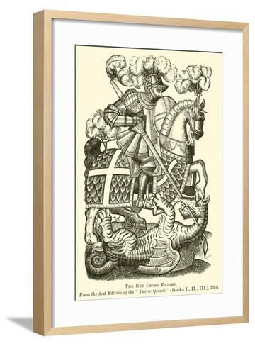 The Red Cross Knight--Framed Art Print