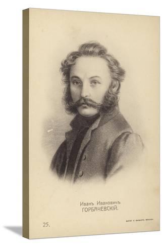 Ivan Horbachevsky, Russian Decembrist Rebel--Stretched Canvas Print