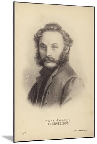 Ivan Horbachevsky, Russian Decembrist Rebel--Mounted Giclee Print