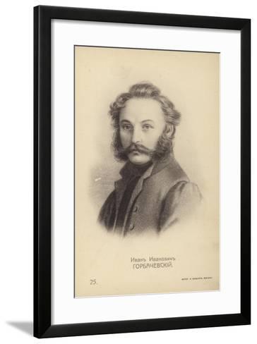 Ivan Horbachevsky, Russian Decembrist Rebel--Framed Art Print