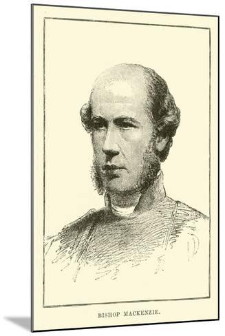 Bishop Mackenzie--Mounted Giclee Print