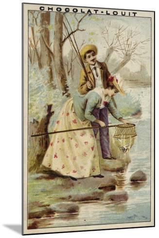 Fishing--Mounted Giclee Print