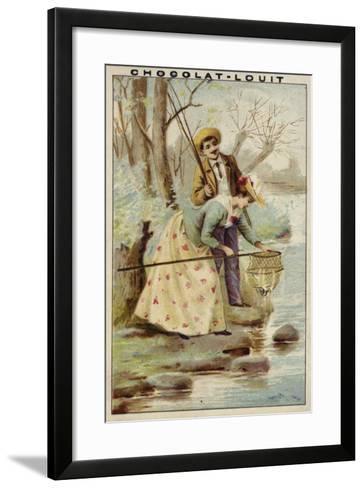Fishing--Framed Art Print