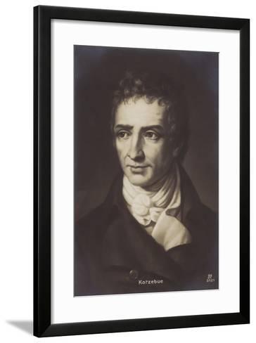 August Kotzebue--Framed Art Print