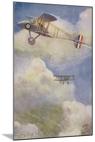 Royal Aircraft Factory Fe 8 Fighter Plane--Mounted Giclee Print