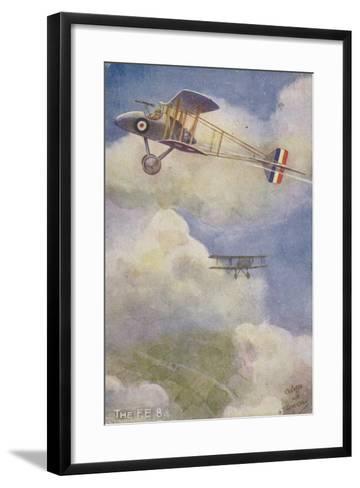 Royal Aircraft Factory Fe 8 Fighter Plane--Framed Art Print