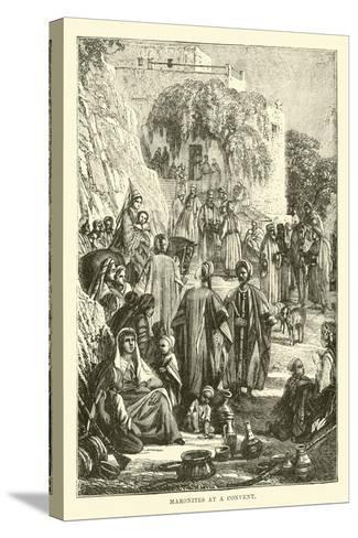 Maronites at a Convent--Stretched Canvas Print