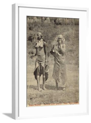 Kikuyu Beauties--Framed Art Print