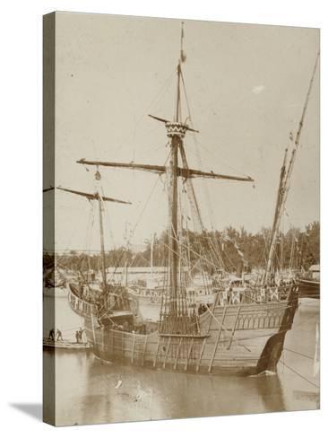 Santa Maria, Columbus' Ship--Stretched Canvas Print