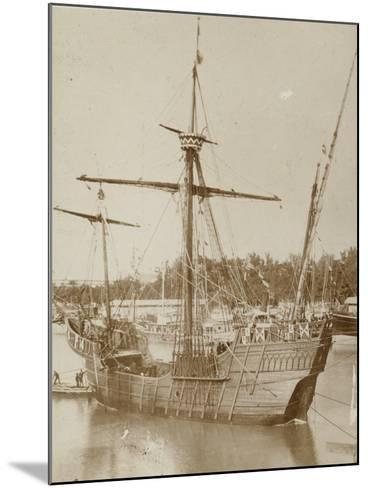 Santa Maria, Columbus' Ship--Mounted Photographic Print